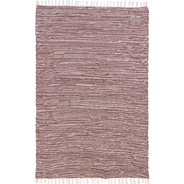 Brown Reversible 8x10-foot Chenille Flat Weave Rug - 8' x 10'