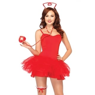 Leg Avenue Women's 'Nurse Kit' 3-piece Costume (One size)