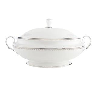 Lenox Pearl Platinum Covered Vegetable Bowl