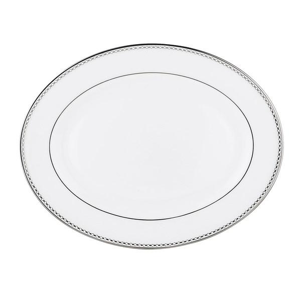 Lenox Pearl Platinum 16-inch Oval Platter
