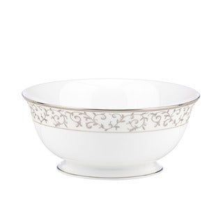 Lenox Opal Innocence Silver Serving Bowl