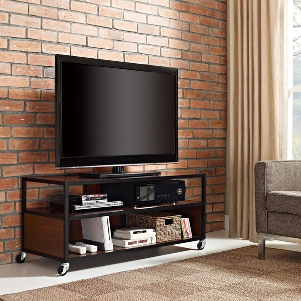 Shop Ameriwood Home Mason Ridge Mobile 46 Inch Tv Stand