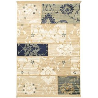 Soraya Patch Cream Rug