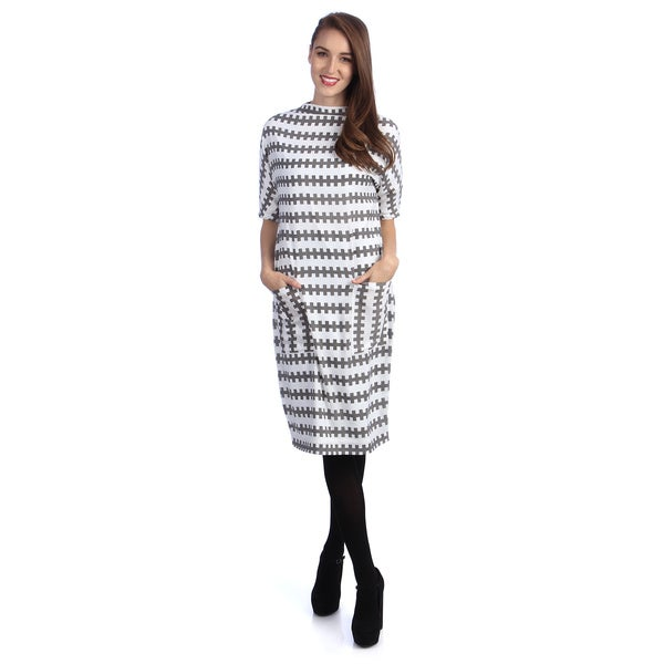 Kingdom & State Women's Printed Dolman Dress