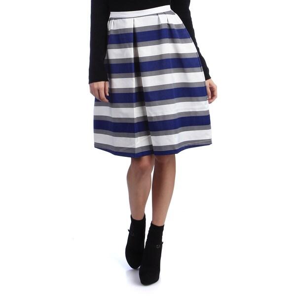 Kingdom & State Stripe Bell Skirt