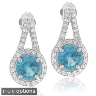 Icz Stonez Sterling Silver Cubic Zirconia Earrings