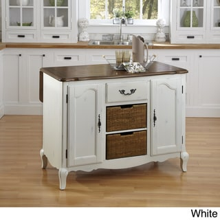 The French Countryside Kitchen Island by Home Styles