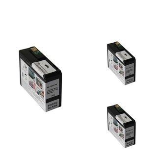 INSTEN Epson T5801PBK 80ml Black Cartridge Set (Remanufactured) (Pack of 3)