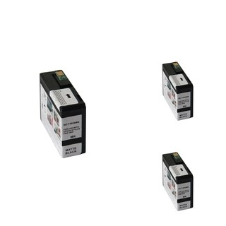 INSTEN Epson T5808MBK 80ml Black Cartridge Set (Remanufactured) (Pack of 3)
