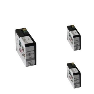 INSTEN Epson T5809LLBk Light Black Cartridge Set (Remanufactured) (Pack of 3)