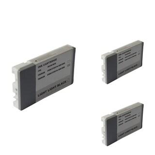 INSTEN Epson T6039LLBk Light Black Cartridge Set (Remanufactured) (Pack of 3)