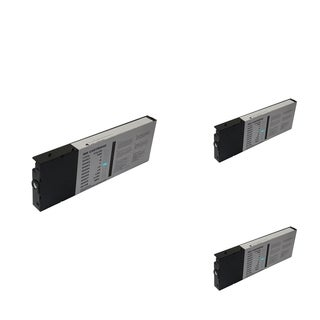 INSTEN Epson T6065LC Cyan Cartridge Set (Remanufactured) (Pack of 3)