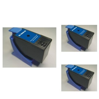 Refilled Insten Black Remanufactured Ink Cartridge Replacement for Dell M4640/ Series 5