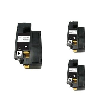 INSTEN Black Cartridge Set for Dell 1250/ 1350 (Pack of 3)