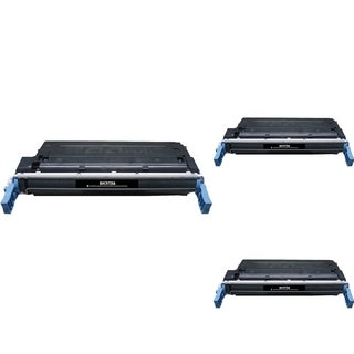 INSTEN Black Cartridge Set for HP C9720A (Pack of 3)