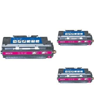 INSTEN Magenta Cartridge Set for HP Q2673 (Pack of 3)