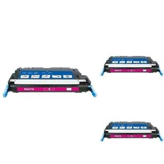 INSTEN Magenta Cartridge Set for HP Q647AA (Pack of 3)