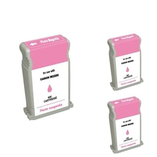 INSTEN Ink Cartridge Set for Canon BCI-1302PM (Pack of 3)