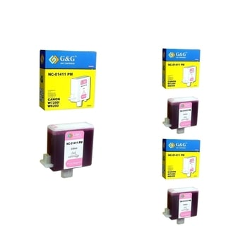 INSTEN Ink Cartridge Set for Canon BCI-1411PM (Pack of 3)