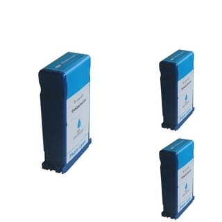 INSTEN Cyan Cartridge Set for Canon BCI-1431PC (Pack of 3)
