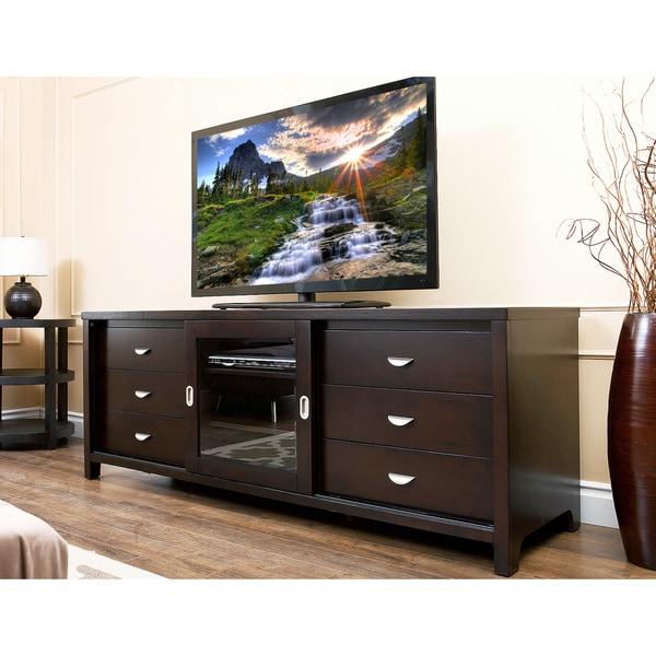 Abbyson Malibu 72 Inch TV Console