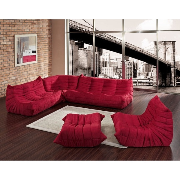 Waverunner Modular Sectional Sofa Set 5 Piece