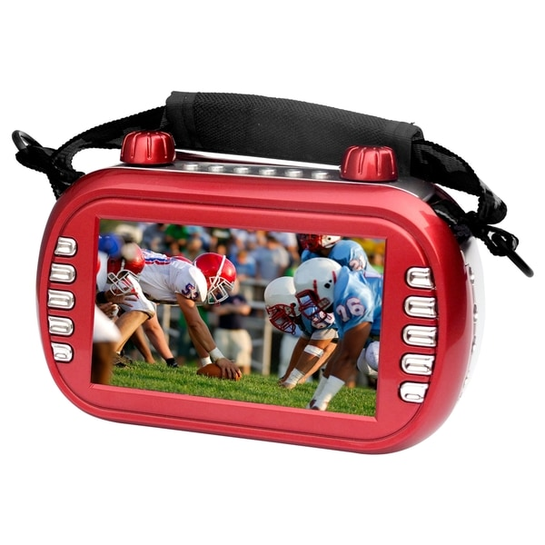 Supersonic SC-444 Red Flash Portable Media Player