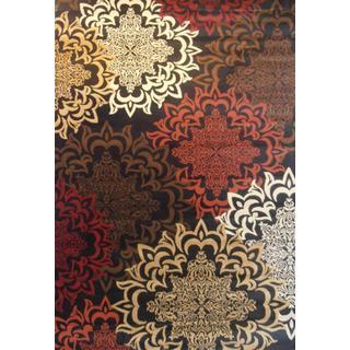 Contemporary Oriental Karma Multicolor Area Rug 7'10 x 9'10