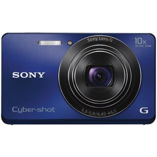 Sony Cyber Shot DSC-W690 16.1MP Blue Digital Camera (New Non Retail Packaging)