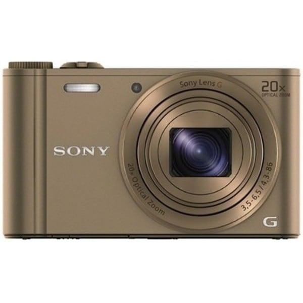 Sony Cyber Shot DSC-WX300 WiFi 18.2MP Brown Digital Camera