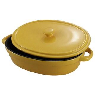 Shop Kitchenworthy Non Stick Ceramic Oval Baking Dish With