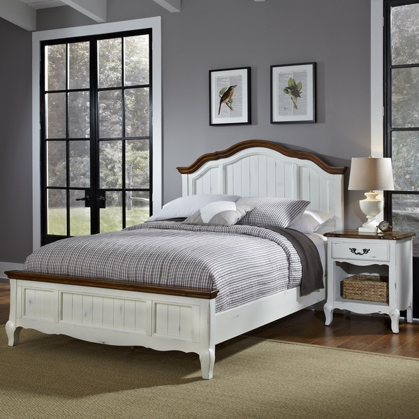 Bedroom Furniture Yard Sale: The French Countryside Queen Bed And Night Stand By Home