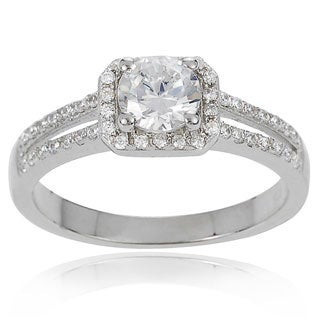 journee collection womens sterling silver cubic zirconia bridal style ring - Jared Wedding Rings For Her