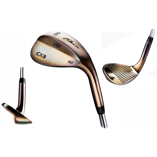 Nextt Golf CX3 Pearl Copper Three Wedge Set -  56, 60 and 64