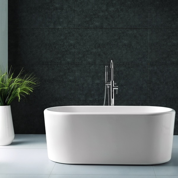 Virtu USA Freestanding Soaking Tub Free Shipping Today 15