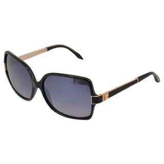 Roberto Cavalli 'RC648S' Injected Shiny Black Sunglasses