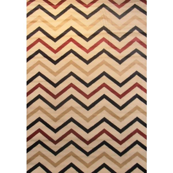 "Trendy Times Antique Area Rug 5'3""X7'7"""