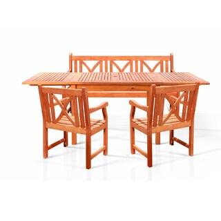 Bonsi Oil-rubbed Dining Set (Set of 6)