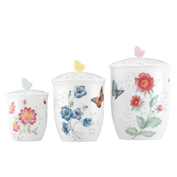 Lenox Butterfly Meadow Canister Set