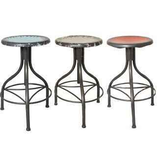 Wood Metal Adjustable Pavina Barstool 14124133