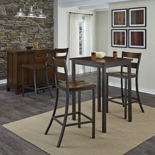 Carbon Loft Knight 3-piece Bistro Set : high top kitchen table set - pezcame.com