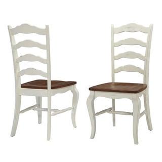 Shop Set Of 2 Broxburn Wood And Metal Dining Chair