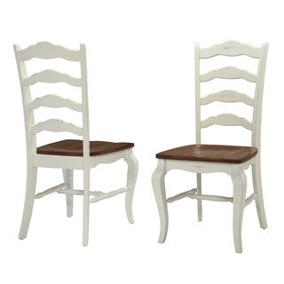 Home Styles White The French Countryside Dining Chair (Set of 2)