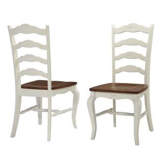 Home Styles White The French Countryside Dining Chair Set Of 2