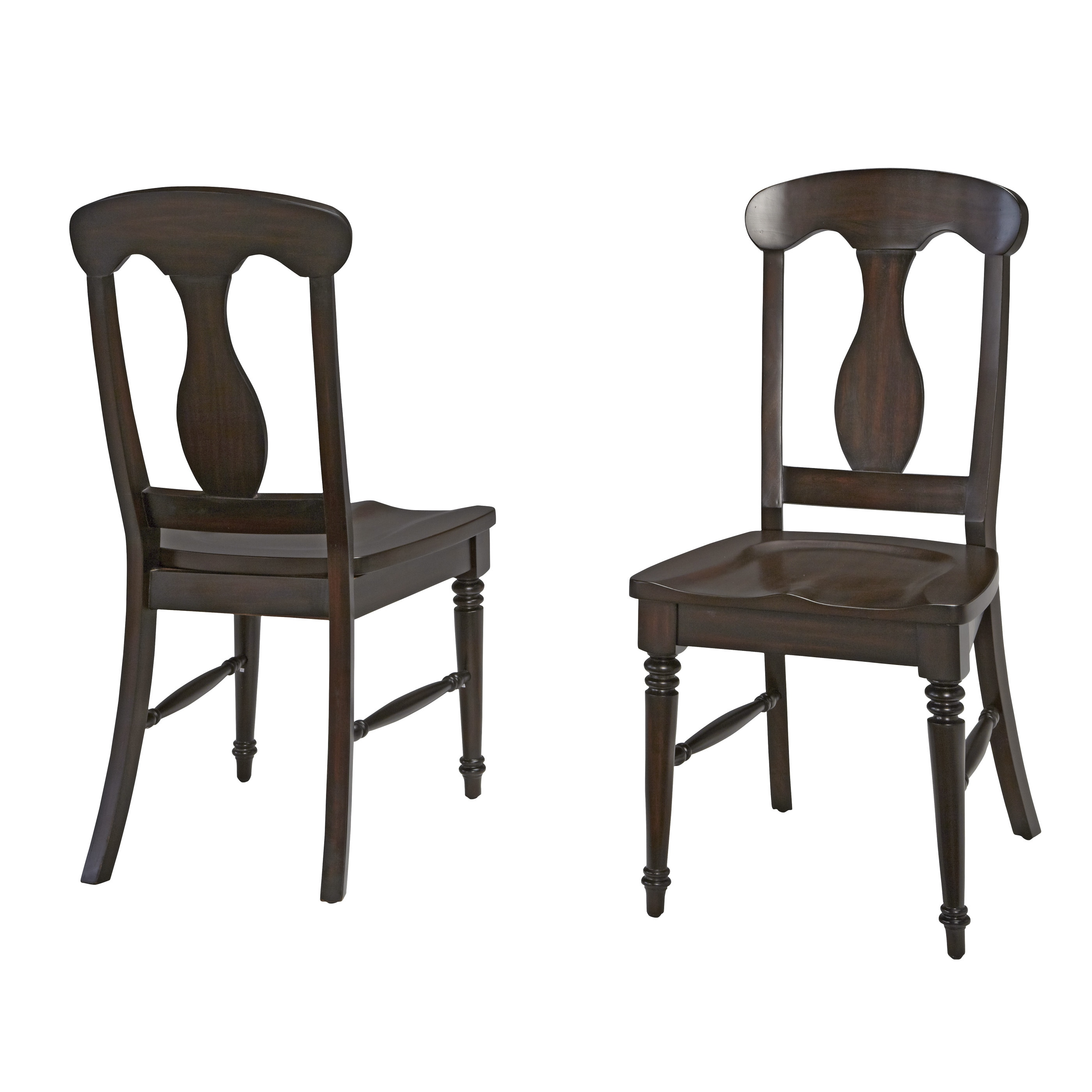 Bermuda Dining Chair Pair by Home Styles (Brown - Espress...
