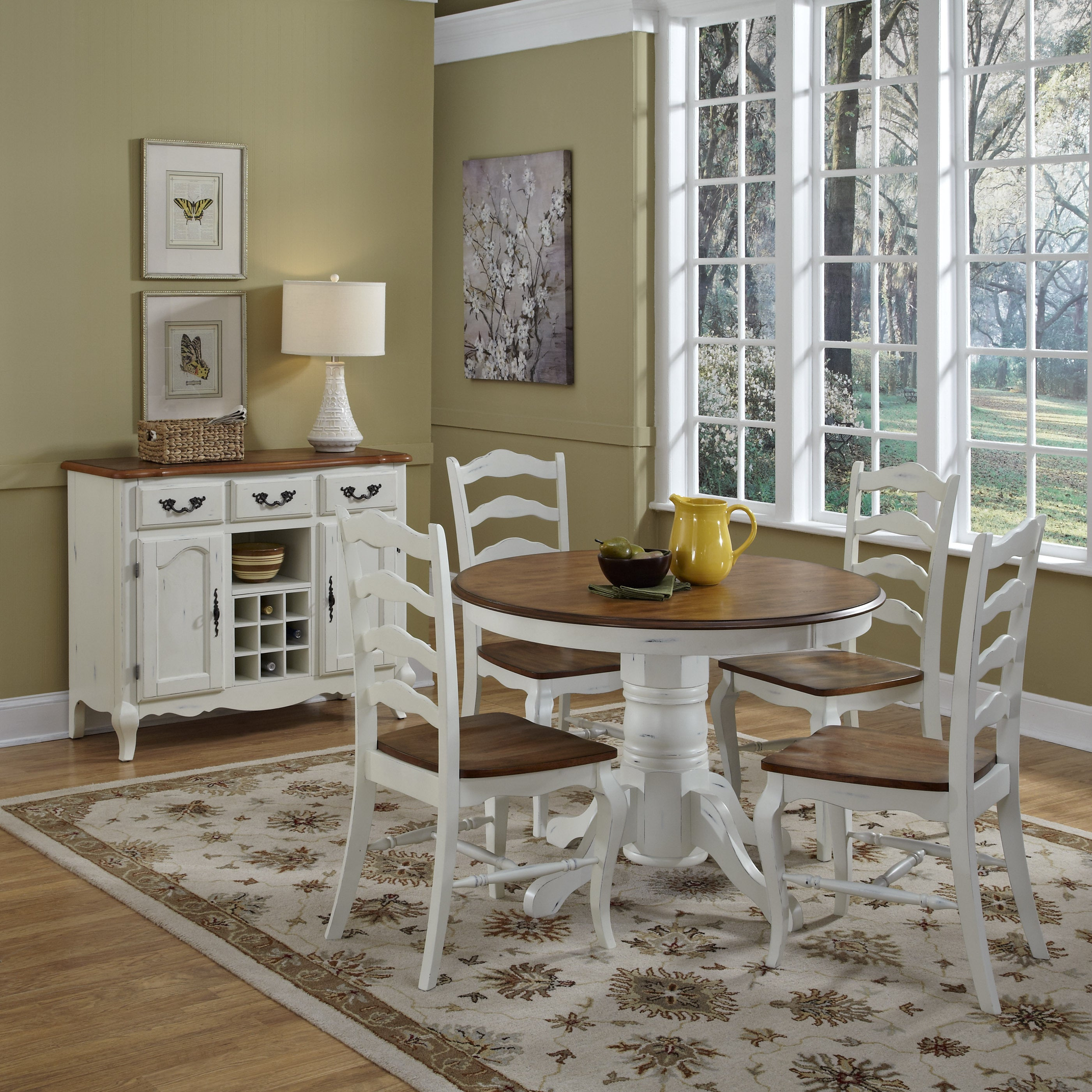 The French Countryside 5-piece Dining Set by Home Styles ...