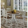 The French Countryside Pedestal Dining Table by Home Styles