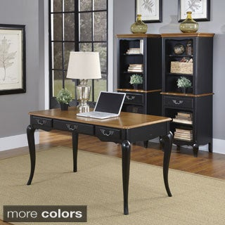 The French Countryside Executive Desk in White by Home Styles