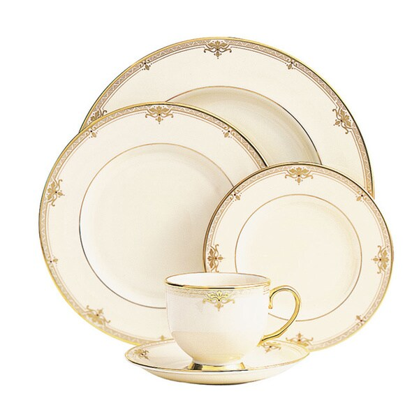 Lenox Republic 5-piece Dinnerware Place Setting  sc 1 st  Overstock & Lenox Republic 5-piece Dinnerware Place Setting - Free Shipping ...