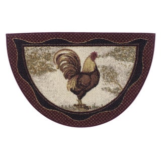 "Tall Rooster Accent Rug - 19""x31"""
